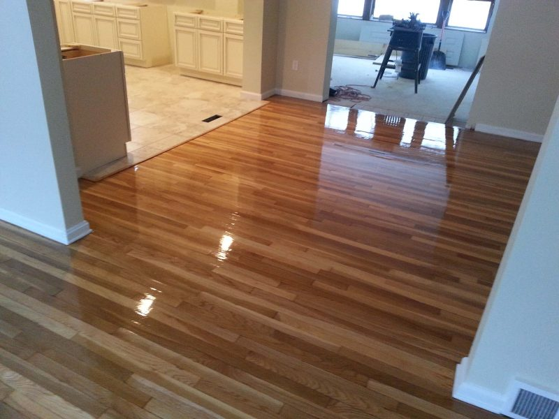 Hardwood floor resurfacing in San Diego, CA
