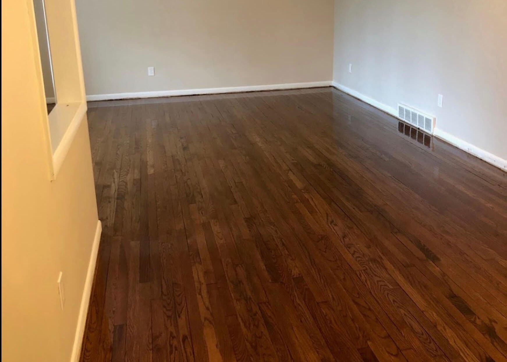 refinish and repair wood flooring
