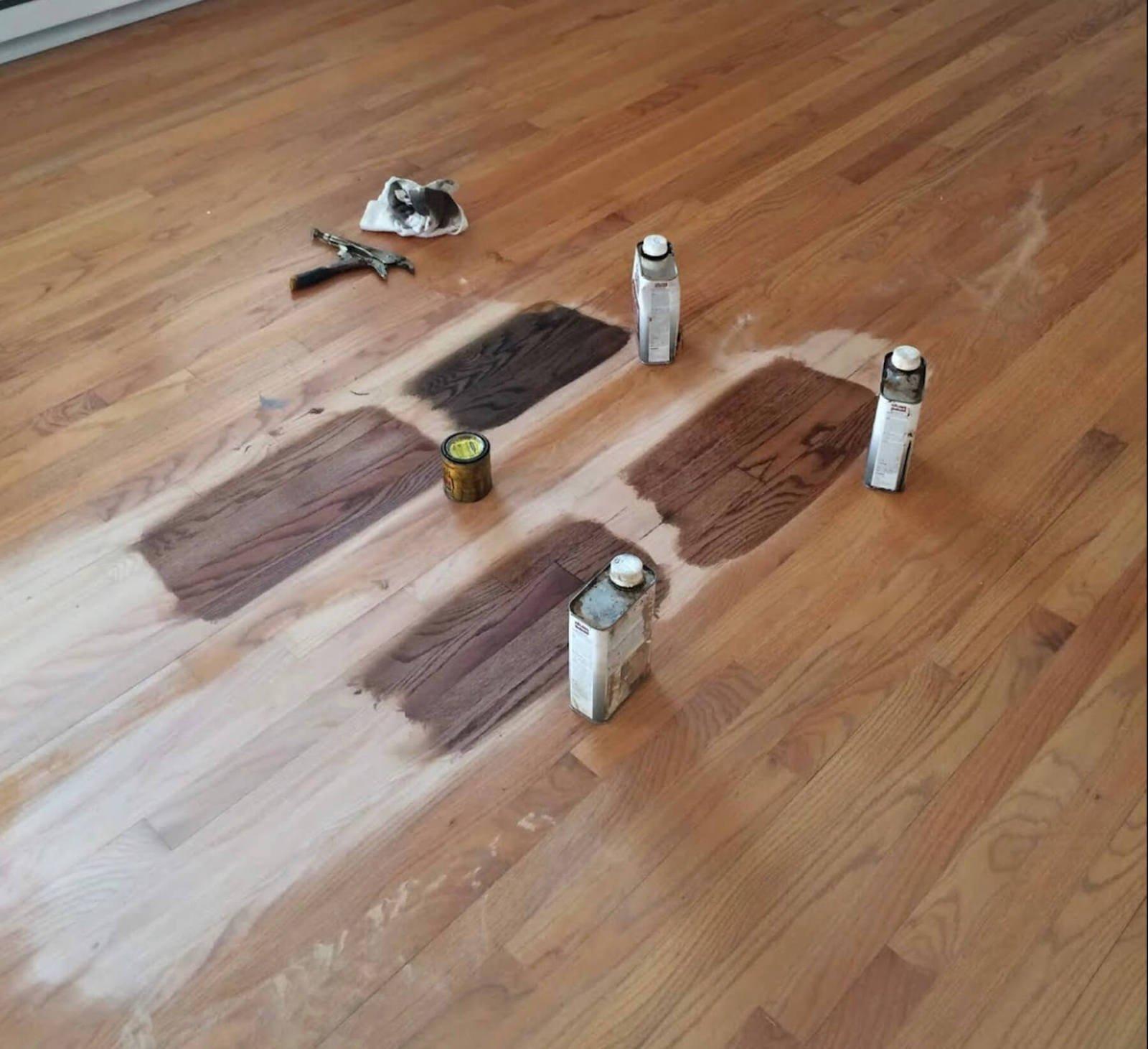 hardwood floor staining in san diego, ca