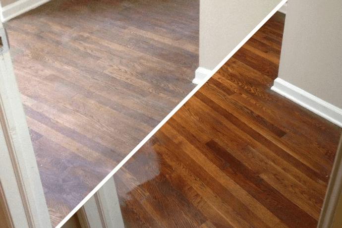 hardwood floor refinishing in La Jolla, CA