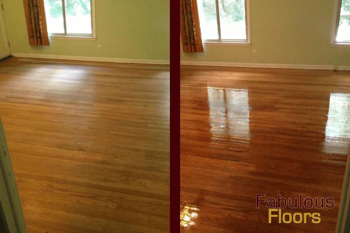 hardwood floor refinishing in Poway, CA